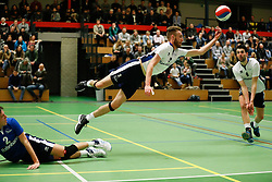 20170125 NED: Beker, Sliedrecht Sport - Seesing Personeel Orion: Sliedrecht<br />Carl Zwijnenburg (3) of Sliedrecht Sport, Albert Stek (9) of Sliedrecht Sport <br />&copy;2017-FotoHoogendoorn.nl / Pim Waslander