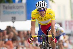 Radoslav Rogina (CRO) of Adria Mobil during Stage 4 from Brezice to Novo mesto (155,8 km) of cycling race 20th Tour de Slovenie 2013,  on June 16, 2013 in Slovenia. (Photo By Vid Ponikvar / Sportida)