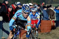 29-01-2006 WIELRENNEN: UCI CYCLO CROSS WERELD KAMPIOENSCHAPPEN ELITE: ZEDDAM <br /> Tom Vannoppen (BEL)<br /> ©2006-WWW.FOTOHOOGENDOORN.NL