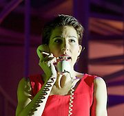Pedro Almodovar's<br /> Women on the Verge of a nervous breakdown The Musical <br /> at the Playhouse Theatre, London, Great Britain <br /> press photocall<br /> 23rd December 2014 <br /> <br /> Tamsin Greig as Pepa <br /> <br /> <br /> Photograph by Elliott Franks <br /> Image licensed to Elliott Franks Photography Services