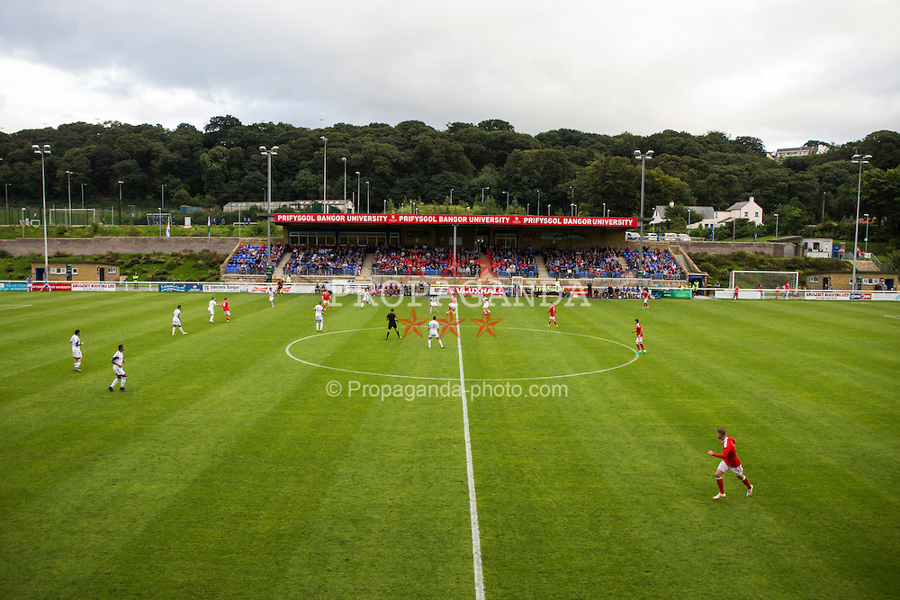 BANGOR, WALES - Tuesday, September 6, 2016: A general view as Wales take on Luxembourg during the UEFA Under-21 Championship Qualifying Group 5 match at Nantporth Stadium. (Pic by Paul Greenwood/Propaganda)
