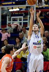 Vjekoslav Petrovic of Helios at basketball match in 6th Round of NLB League  between KK Helios Domzale and KK Hemofarm STADA Vrsac , on November 7, 2009, in Dvorana Komunalnega centra, Domzale, Slovenia.  Helios lost 60:85. (Photo by Vid Ponikvar / Sportida)