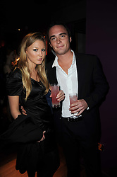 MILLY BENNETT and JOHNNY WEINBERG at the Tatler Little Black Book Party held at Chinawhite, 4 Winsley Street, London on 20th November 2009.