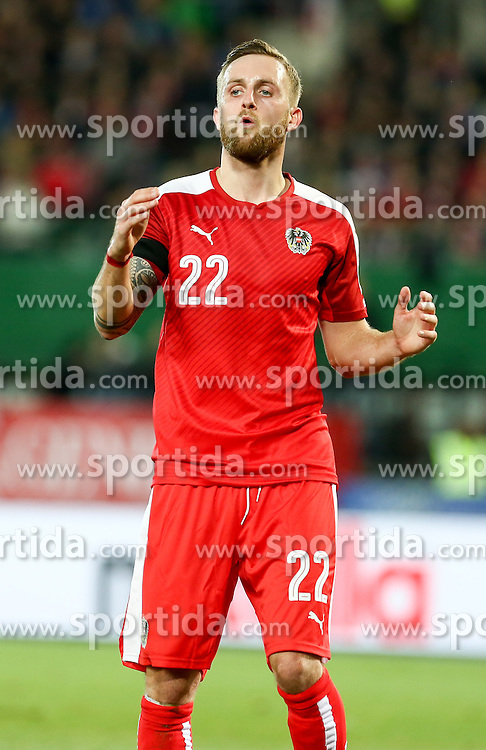 17.11.2015, Ernst Happel Stadion, Wien, AUT, Testspiel, Österreich vs Schweiz, im Bild Jakob Jantscher (AUT) // Jakob Jantscher (AUT) during the International Friendly Football Match between Austria and Switzerland at the Ernst Happel Stadion in Wien, Austria on 2015/11/17. EXPA Pictures © 2015, PhotoCredit: EXPA/ Alexander Forst