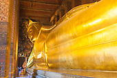 Reclining Buddha - Wat Pho Temple - Bangkok - Thailand