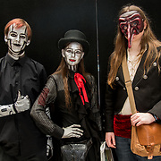 London, UK. 25nd May, 2018. People in customs of their favourites Cosplay attending MCM Comic Con event and having a good time held at London Excel.