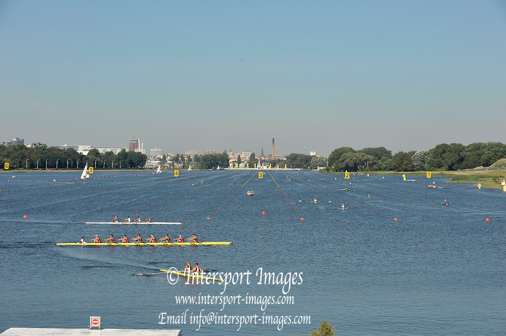 Poznan, POLAND,   GV rowing course, FISA World Rowing Championships. held on the Malta Rowing lake, Thursday  20/08/2009 [Mandatory Credit. Peter Spurrier/Intersport Images]