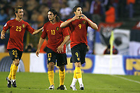 Fotball<br /> 22.08.2007<br /> EM-kvalifisering<br /> Belgia v Serbia<br /> Foto: PhotoNews/Digitalsport<br /> NORWAY ONLY<br />   <br /> JOIE VREUGDE - KEVIN MIRALLAS - STEVEN DEFOUR - CARL HOEFKENS