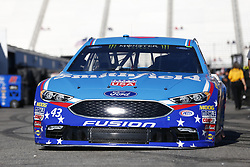September 23, 2017 - Loudon, New Hampshire, United States of America - September 23, 2017 - Loudon, New Hampshire, USA: Aric Almirola (43) takes to the track to practice for the ISM Connect 300 at New Hampshire Motor Speedway in Loudon, New Hampshire. (Credit Image: © Justin R. Noe Asp Inc/ASP via ZUMA Wire)