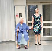 This May Hurt A Bit <br /> by Stella Feehily <br /> at St James Theatre, London, Great Britain <br /> press photocall <br /> 14th May 2014 <br /> <br /> directed by Max Stafford-Clark <br /> <br /> Frances Ashman <br /> <br /> Stephanie Cole as Iris<br /> <br /> William Hope <br /> <br /> Natalie Klamar <br /> <br /> Hywel Morgan <br /> <br /> Brian Protheroe<br /> <br /> Jane Wymark <br /> <br /> Tristram Wymark