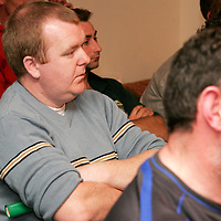 Burren Utd.'s Eamon Garrihy at the Clare Soccer League AGM in the Clare Inn on Thursday evening,.<br /><br /><br /><br />Photograph by Yvonne Vaughan.