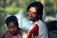 Portrait of people from backwaters.