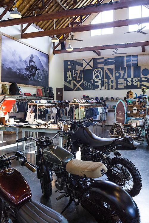 Deus Showroom in Canggu.  Bali, Indonesia.