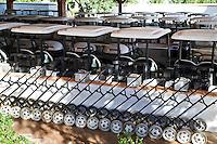 VILAMOURA - Algarve - Oceanico Victoria  Golfcourse, buggy's en trolley's. ,   COPYRIGHT KOEN SUYK