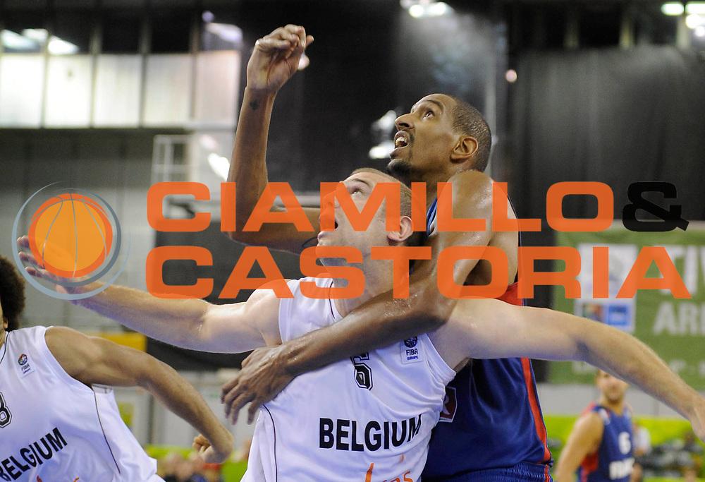 DESCRIZIONE : Lubiana Ljubliana Slovenia Eurobasket Men 2013 Preliminary Round Belgio Francia Belgium France<br /> GIOCATORE : Alexis Ajinca<br /> CATEGORIA : tagliafuori<br /> SQUADRA : Francia France<br /> EVENTO : Eurobasket Men 2013<br /> GARA : Belgio Francia Belgium France<br /> DATA : 09/09/2013 <br /> SPORT : Pallacanestro <br /> AUTORE : Agenzia Ciamillo-Castoria/H.Bellenger<br /> Galleria : Eurobasket Men 2013<br /> Fotonotizia : Lubiana Ljubliana Slovenia Eurobasket Men 2013 Preliminary Round Belgio Francia Belgium France<br /> Predefinita :