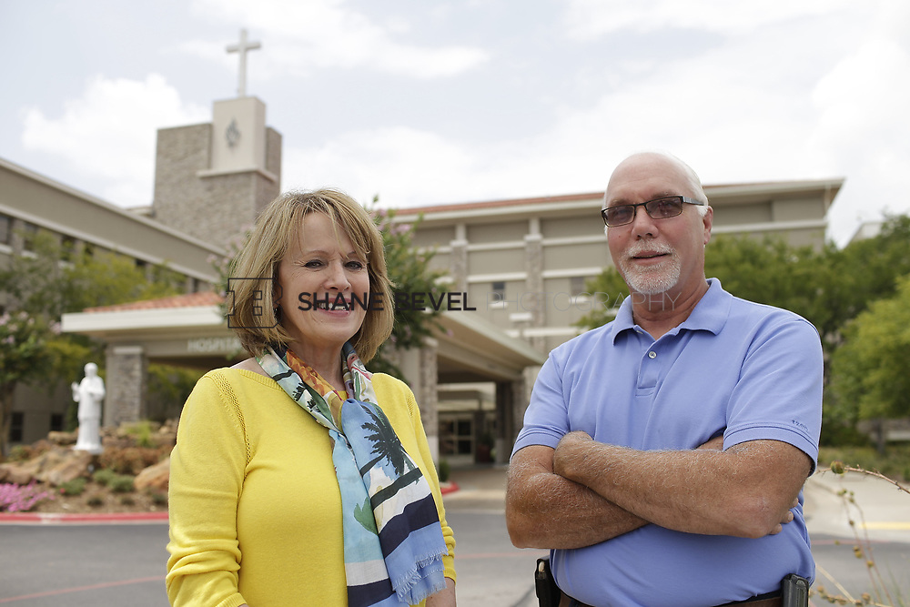 8/9/17 2:09:11 PM -- Photos of Saint Francis South employees and David Weil. <br /> <br /> Photo by Shane Bevel