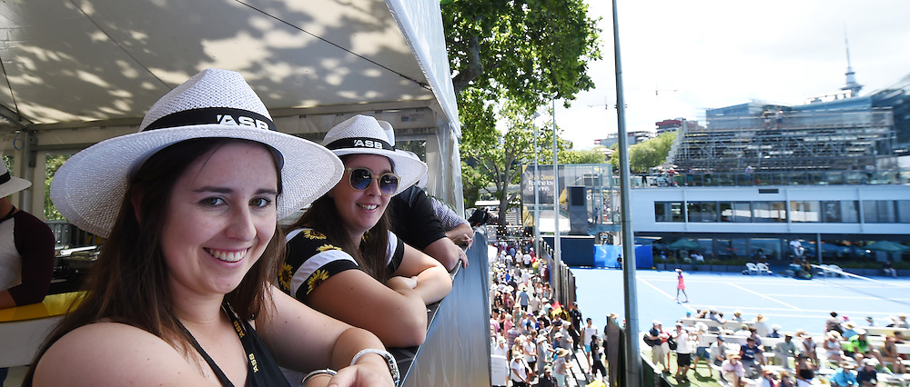 ASB Corporate Hospitality on Day 3 at the ASB Classic WTA International. Auckland, New Zealand. Wednesday 7 January 2015. Copyright photo: Andrew Cornaga/www.photosport.co.nz