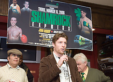 February 14, 2006 - John Duddy vs Shelby Pudwill Presser - New York, NY