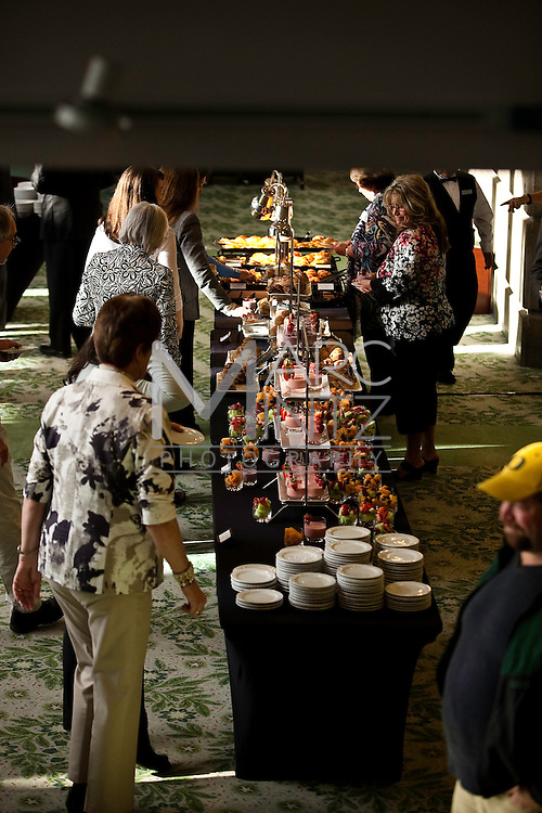 The annual BRAVA breakfast celebrating art and artists in Eugene, Oregon.