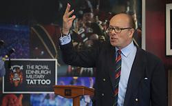 Brigadier David Allfrey, CEO and producer of the Royal Edinburgh Military Tattoo, launches the 2018 programme pic copyright Terry Murden @edinburghelitemedia