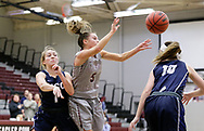 November 2, 2017: The Manhattan Christian College Thunder play against the Oklahoma Christian University Lady Eagles in an exhibition game in the Eagles Nest on the campus of Oklahoma Christian University.