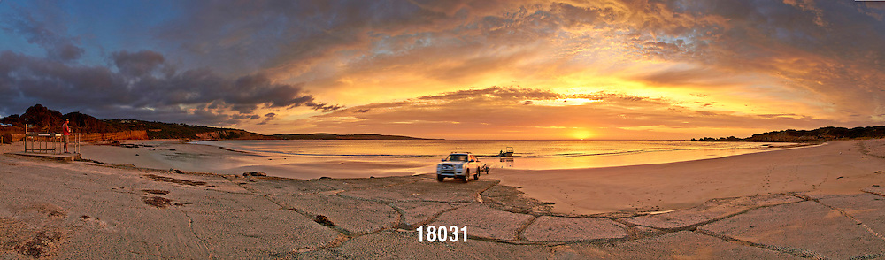 Point Roadknight sunrise