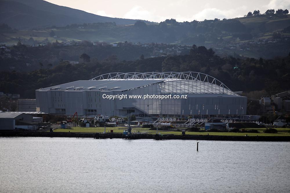 General view of Forsyth Barr Stadium, 24 June 2011.<br /> Forsyth Barr Stadium, Dunedin, New Zealand.<br /> Photo: Rob Jefferies / www.photosport.co.nz