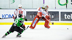17.02.2015, Hala Tivoli, Ljubljana, SLO, EBEL, HDD Telemach Olimpija Ljubljana vs EC KAC, 4. Qualification Round, in picture Pekka Tuokkola (EC KAC, #83) during the Erste Bank Icehockey League 4. Qualification Round between HDD Telemach Olimpija Ljubljana and EC KAC at the Hala Tivoli, Ljubljana, Slovenia on 2015/02/17. Photo by Morgan Kristan / Sportida