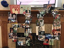 06 August 2016:   David Look turns 80 years old.  Family joins in the celebration at the clubhouse on Bond Circle in Naperville Illinois<br /> <br /> Taken by Lelanny.<br /> <br /> old photo's