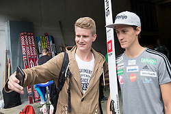 Peter Prevc with a fan during ski jumping training in Nordic Center Planica, on June 29, 2017 in Planica, Slovenia. Photo by Matic Klansek Velej / Sportida
