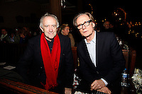 Jonathan Pryce and Bill Nighy, Nordoff Robbins Carol Service  2011 sponsored by Coutts. London..Wednesday, 14. Dec 2011
