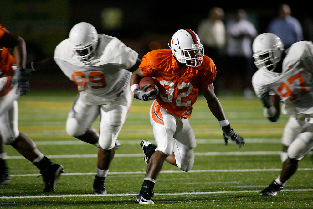 2008 Miami Hurricanes Football Spring Scrimmage @ Traz-Powell Stadium