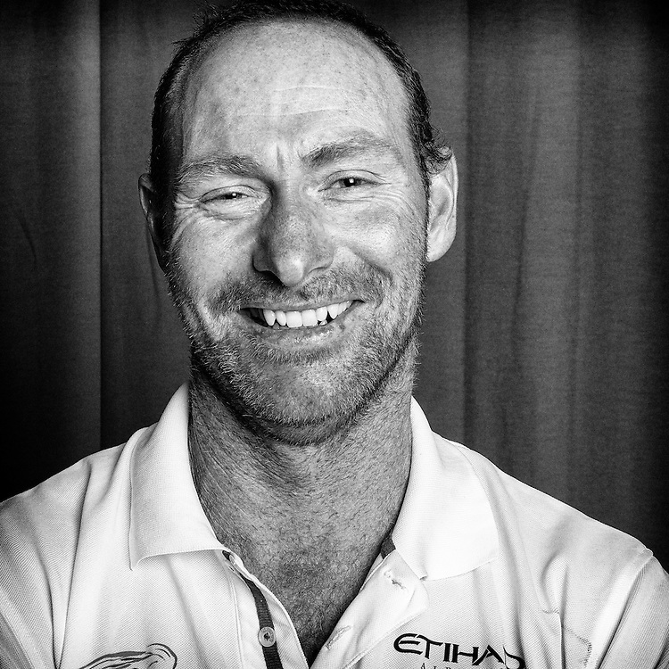 PORTUGAL, Lisbon. 31st May 2012. Volvo Ocean Race, Leg 7 (Miami-Lisbon) finish. Craig Satterthwaite, Watch Leader, Abu Dhabi Ocean Racing.