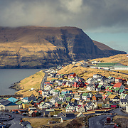 Eiði is a typical example of many of the wondeful fishing villages on Faroe, nestled between rugged cliffs and deep fjords, it was originally founded by Vikings in the 9th century AD.
