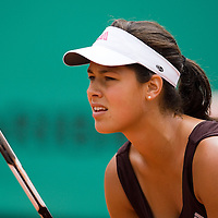 07 June 2007: Serbian player Ana Ivanovic is seen in action during the French Tennis Open semi final won 6-2, 6-1 by Ana Ivanovic over Maria Sharapova on day 12 at Roland Garros, in Paris, France.