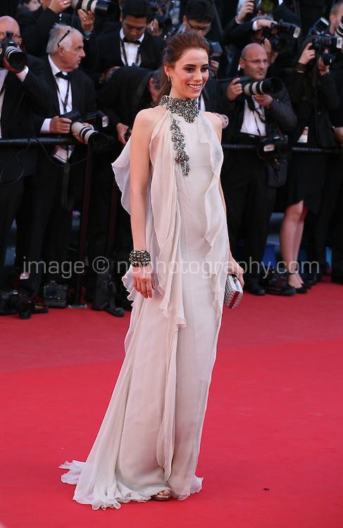 Cansu Dere at Venus in Fur - La Venus A La Fourrure film gala screening at the Cannes Film Festival Saturday 26th May May 2013