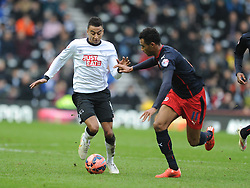 Jesse Linguard Derby County, Derby County v Reading, FA Cup 5th Round, The Ipro Stadium, Saturday 14th Febuary 2015