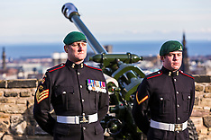 21 Gun Salute | Edinburgh Castle | 6 February 2017