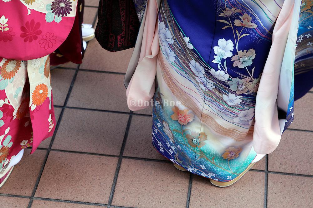 during Coming of Age festival, Seijin no hi, Japan