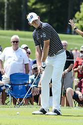August 10, 2018 - Town And Country, Missouri, U.S - BRANDT SNEDEKER from Nashville Tennessee, USA gets ready to tee off at hole number 3 during round two of the 100th PGA Championship on Friday, August 10, 2018, held at Bellerive Country Club in Town and Country, MO (Photo credit Richard Ulreich / ZUMA Press) (Credit Image: © Richard Ulreich via ZUMA Wire)