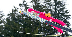 03.01.2015, Bergisel Schanze, Innsbruck, AUT, FIS Ski Sprung Weltcup, 63. Vierschanzentournee, Training, im Bild Kamil Stoch (POL) // Kamil Stoch of Poland in action during Trial Jump of 63 rd Four Hills Tournament of FIS Ski Jumping World Cup at the Bergisel Schanze, Innsbruck, Austria on 2015/01/03. EXPA Pictures © 2015, PhotoCredit: EXPA/ Peter Rinderer