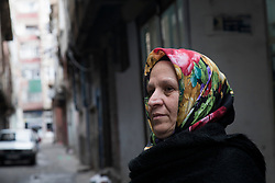 Ayhan Dogrual, Sur District Co-chair for the Democratic Regions Party, photographed in the Sur district in Diyarbakir on March 24, 2017. Dogrual her lost home in the conflict and also retrieved several bodies for burial rights despite intense military pressure.