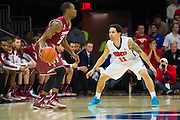 DALLAS, TX - FEBRUARY 19: Nic Moore #11 of the SMU Mustangs defends against Will Cummings #2 of the Temple Owls on February 19, 2015 at Moody Coliseum in Dallas, Texas.  (Photo by Cooper Neill/Getty Images) *** Local Caption *** Nic Moore