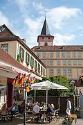 Altes Schloss, Bad König, Odenwald, Naturpark Bergstraße-Odenwald, Hessen, Deutschland | Old Castle and New Castle, Bad König, Odenwald, Bergstraße-Odenwald, Hesse, Germany