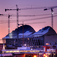 Kauffman Center at Sunset in  October 2010