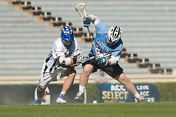 26 April 2009: North Carolina Tar Heels midfielder Shane Walterhoefer (25) during a 15-13 loss to the Duke Blue Devils during the ACC Championship at Kenan Stadium in Chapel Hill, NC.