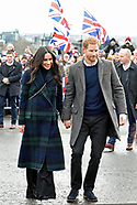 Meghan Markle & Prince Harry Visit Edinburgh, Scotland3