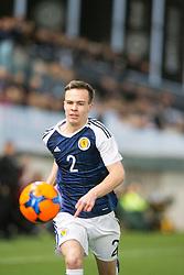 Scotland's Chris Hamilton. Scotland 2 v 2 Wales, Under 16 Victory Shield, Oriam 1/11/2016.