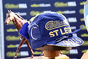 The William Hill Winning St Leger Jockeys Cap during the fourth and final day of the St Leger Festival at Doncaster Racecourse, Doncaster, United Kingdom on 14 September 2019.