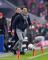 Fussball  1. Bundesliga  Saison 2018/2019  10. Spieltag  FC Bayern Muenchen - SC Freiburg         03.11.2018 Enttaeuschung FC Bayern Muenchen; Trainer Niko Kovac ----DFL regulations prohibit any use of photographs as image sequences and/or quasi-video.----